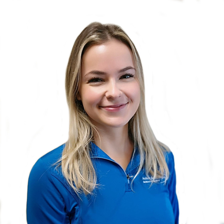Picture of Noémie Boudreau Physiotherapist at the Action Sport Physio Saint-Bruno clinic