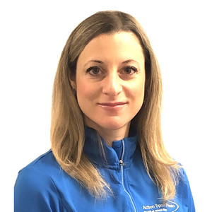 Picture of Sabrina Sabelli Physiotherapist at the Action Sports Physio Montreal West clinic