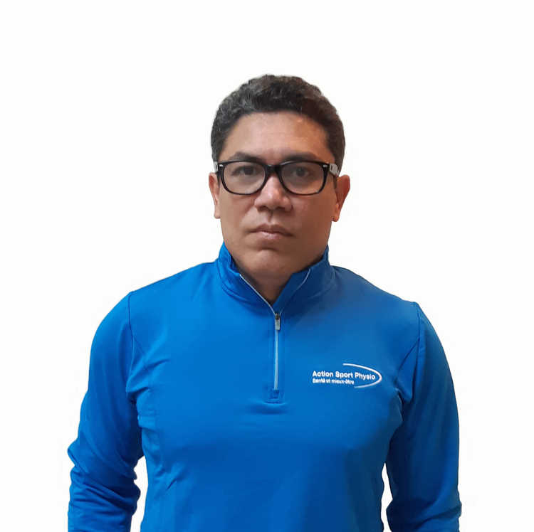 Picture of Solin Lujan Kinesiologist at the Action Sports Physio Cabrini clinic