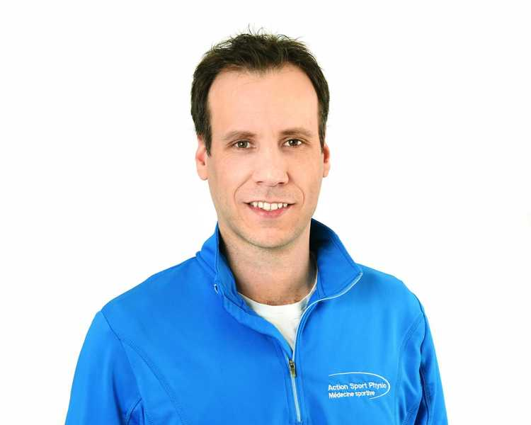 Picture of François Fleury Executive Assistant at the Action Sports Physio Île Perrot clinic