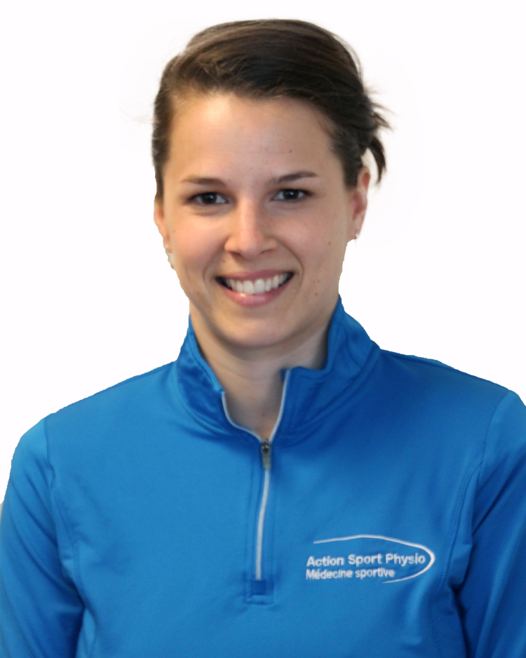 Picture of Sarah-Maude Morin Boulais Athletic Therapist at the Action Sports Physio Montreal - Downtown clinic