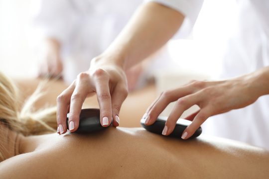 Picture of the Hot Stone Massage's service