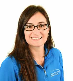 Picture of Nancy Fonzo Physiotherapist at the Action Sports Physio Saint-Léonard clinic