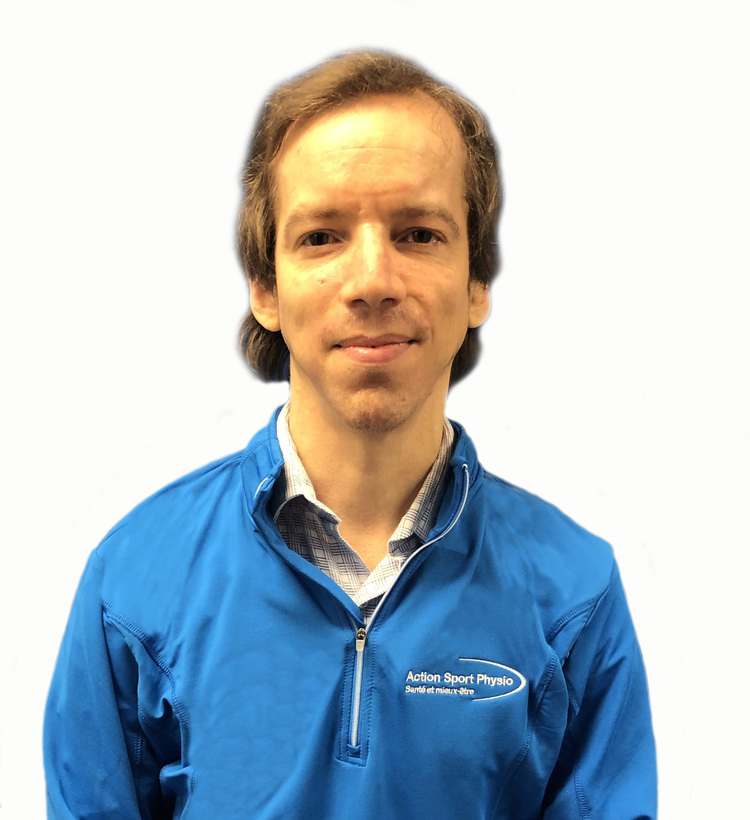 Picture of Théo Stafford-Richard Physiotherapist at the Action Sports Physio Montreal - East End clinic
