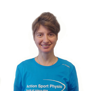 Photo de Laura Mateias Stan physiothérapeute à la clinique Action Sport Physio Saint-Laurent