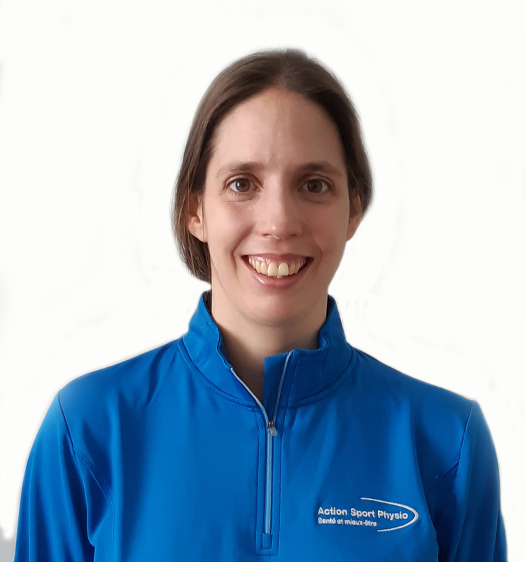 Picture of  Élise Landry Physiotherapist at the Action Sport Physio Cabrini and Mercier clinics