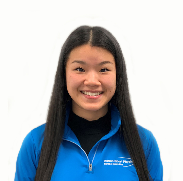 Picture of Camille Alarie Occupational Therapist at the Action Sport Physio Mercier Hochelaga and Maisonneuve Rosemont clinics