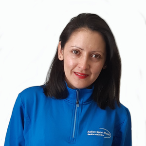 Picture of Katherine Romero Receptionist at the Action Sport Physio Cabrini