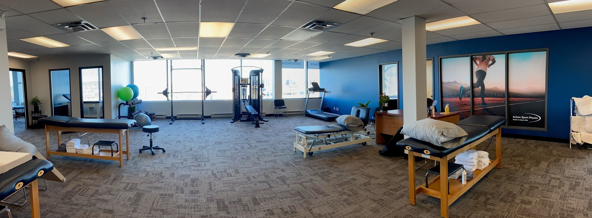 Picture of the LaSalle Action Sport Physio Clinic.
