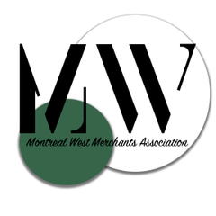 Logo do Montréal-Ouest Merchants Association