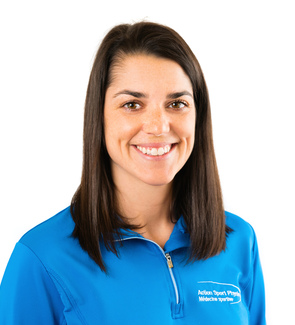 Picture of Catherine Janson Physiotherapist at the Action Sport Physio Repentigny clinic