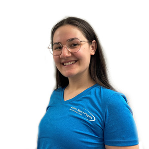 Picture of Megan Lucas Massage Therapist at the Action Sport Physio Montreal West and LaSalle clinics
