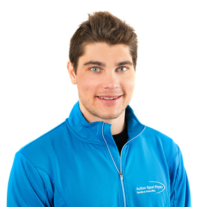 Picture of Hugues Fontaine Physiotherapist at the Action Sport Physio Mascouche clinic