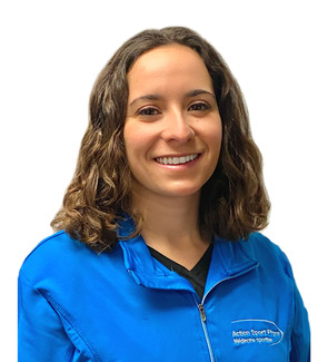 Picture of Nadia Moussouni Physiotherapist at the Action Sports Physio Saint-Léonard clinic