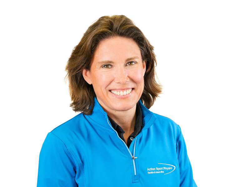 Picture of Anne-Sophie Crespel Osteopath at the Action Sport Physio Rivière-des-Prairies clinic