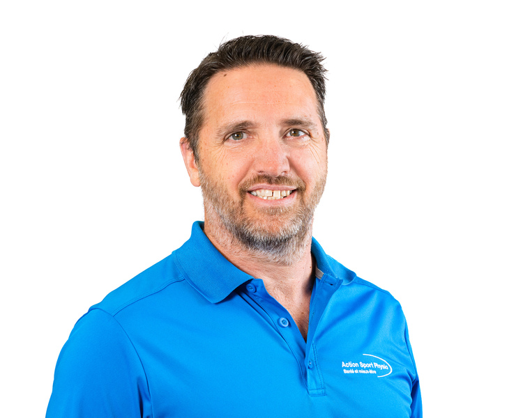 Picture of Stéphan Jalbert Training & Fitness Expert at the Action Sport Physio Sherbrooke clinic