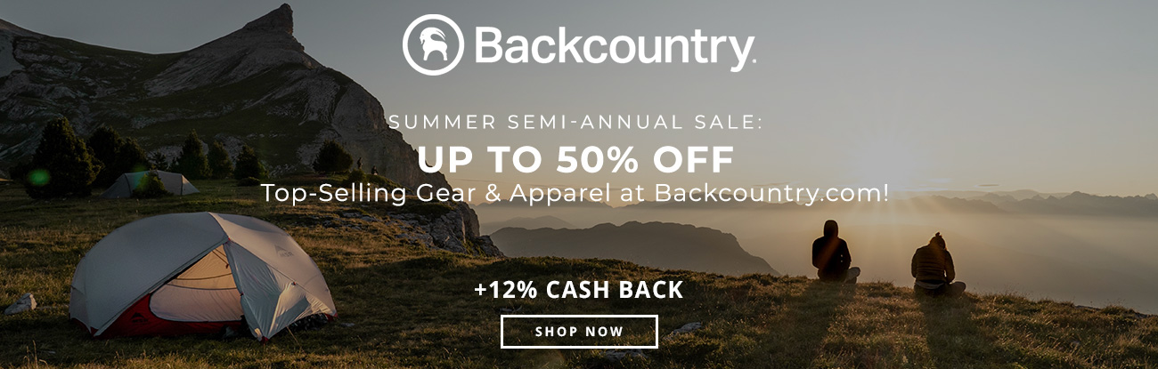 Summer Semi-Annual Sale: Up to 50% Off Top-Selling Gear & Apparel at Backcountry.com!