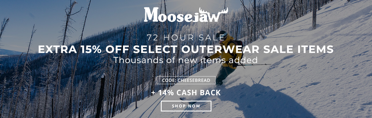 72 Hour Sale: Extra 15% off Select Outerwear Sale Items  Ends 2/15