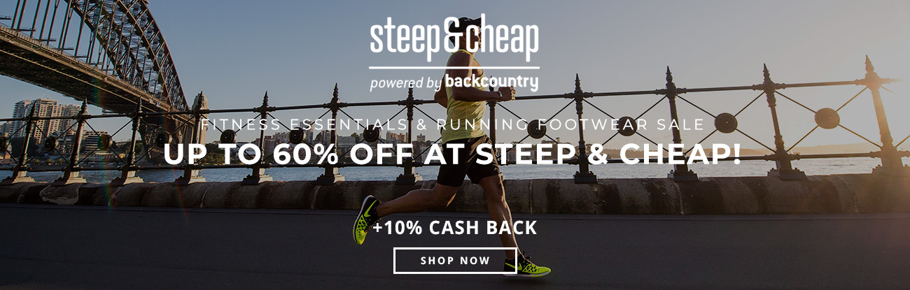 Fitness Essentials & Running Footwear Sale: Up to 60% Off at Steep & Cheap!
