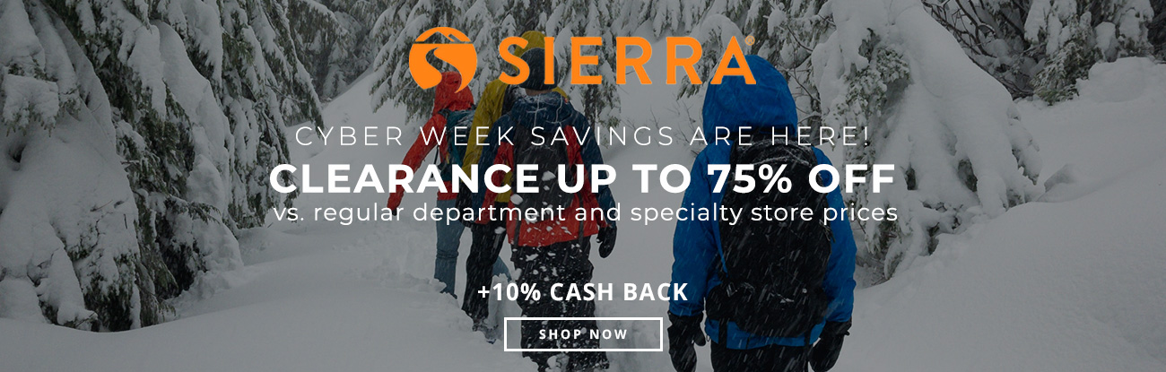 Cyber Week savings are HERE! Clearance up to 75% off, vs. regular department and specialty store prices