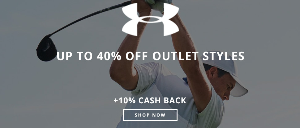 Up to 40% off Outlet Styles at UnderArmour.com