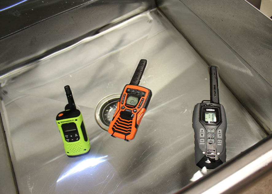 cobra floating walkie talkies manual