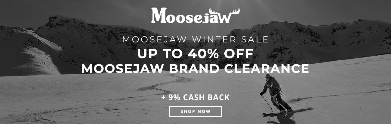 Moosejaw Winter Sale - Up to 40% off Moosejaw Brand Clearance