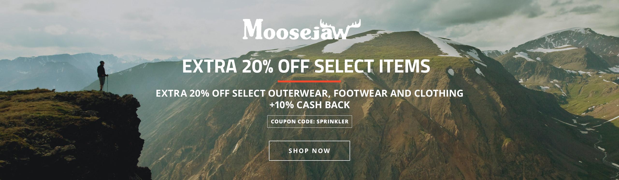 Moosejaw 20 Off