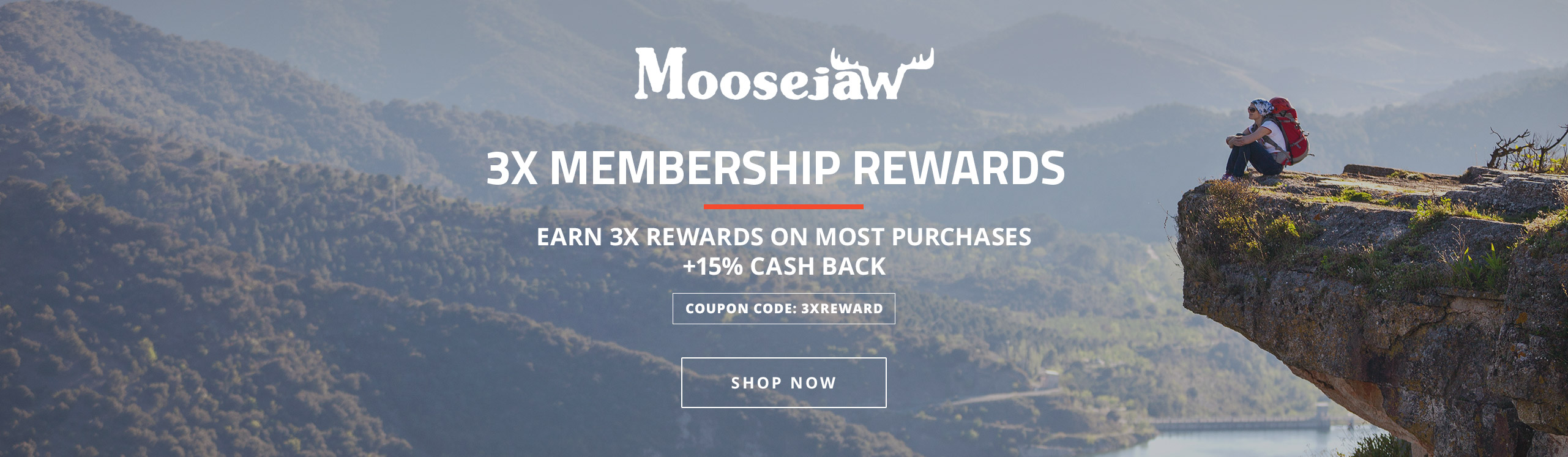Moosejaw 3X Rewards