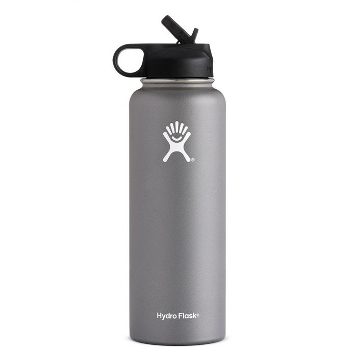 Hydro Flask 40 oz. Wide Mouth w/ Straw Lid