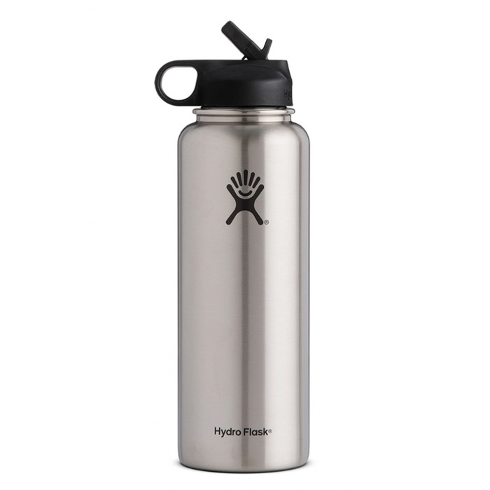 Hydro flask 40 oz wide mouth straw lid main