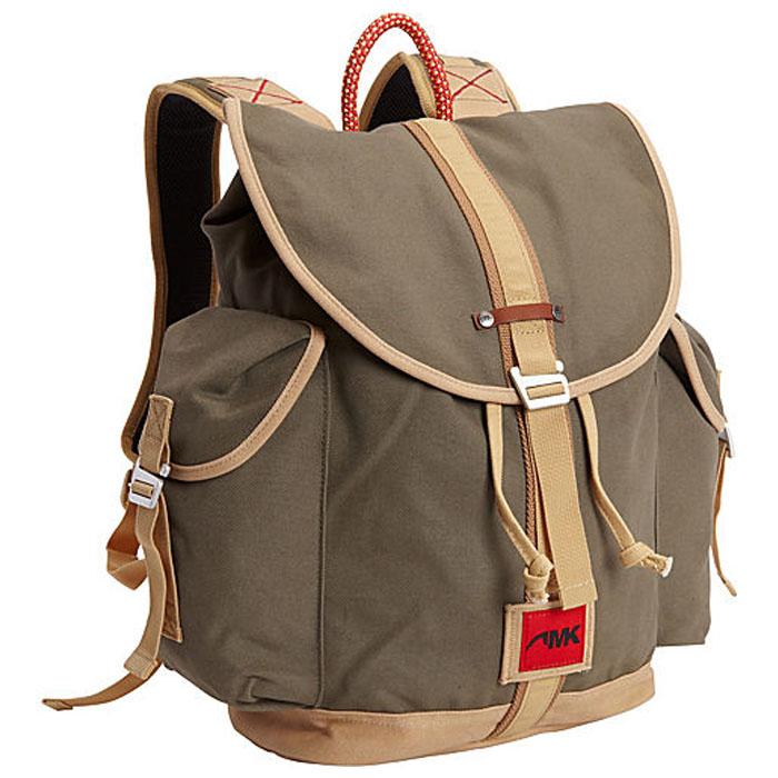Mountain khaki rucksack main