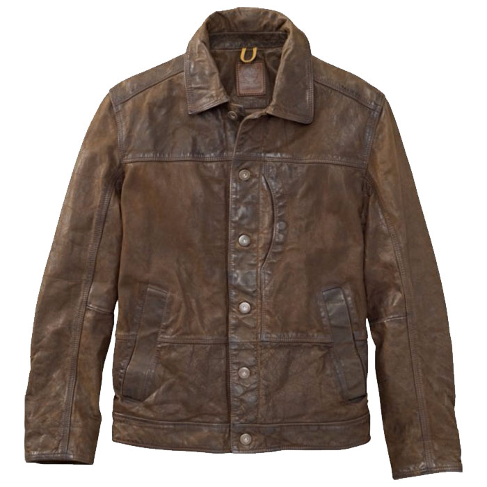 Timberland tenon leather bomber 1