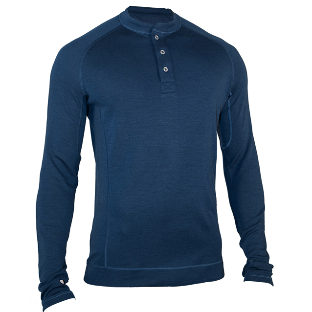 Showers Pass LS Bamboo-Merino Henley
