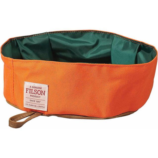 Filson dog bowl