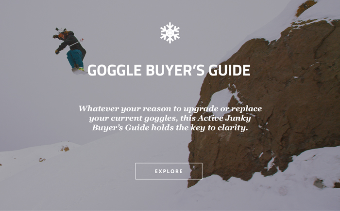 Goggles Buyer's Guide