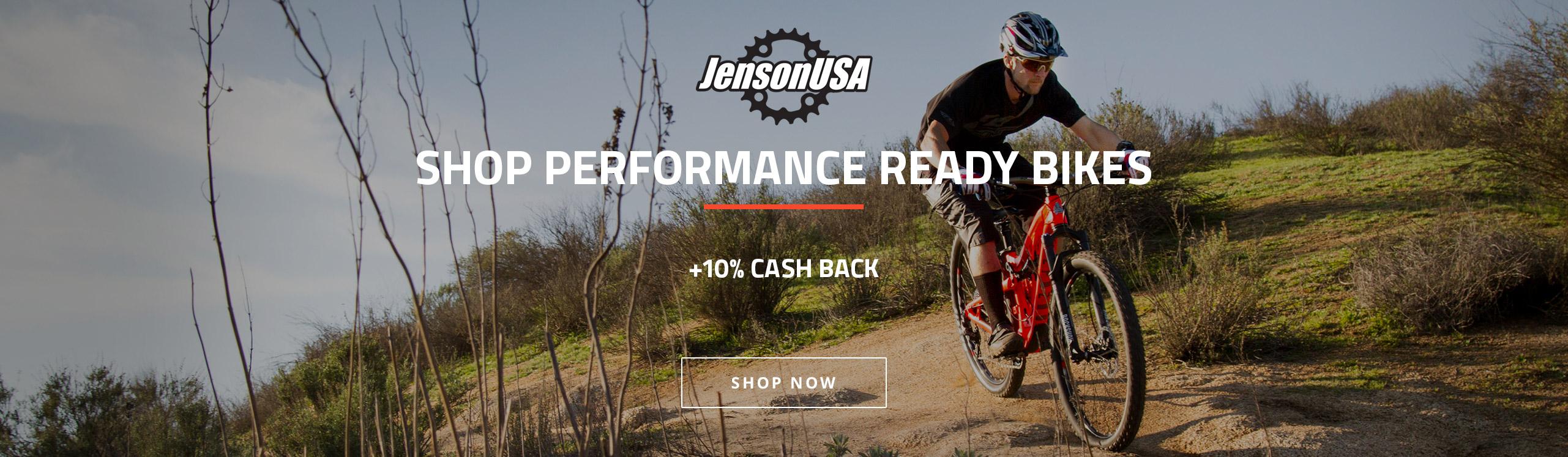 Jenson USA (10%) Shop Performance Ready Bikes