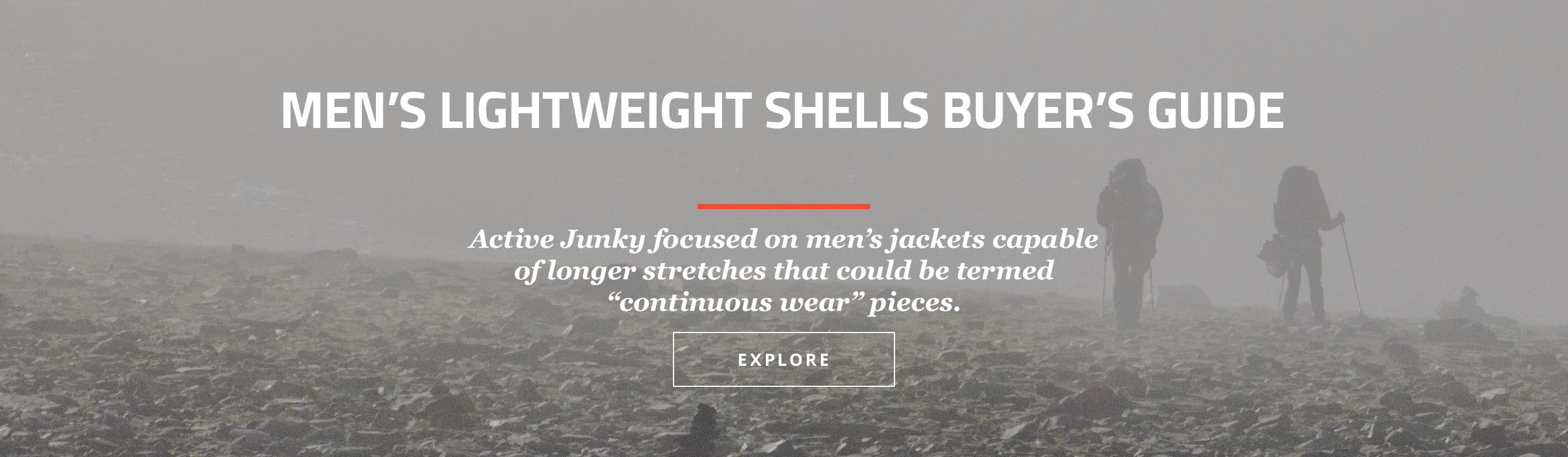 Men's Lighweight Shells Buyer's Guide