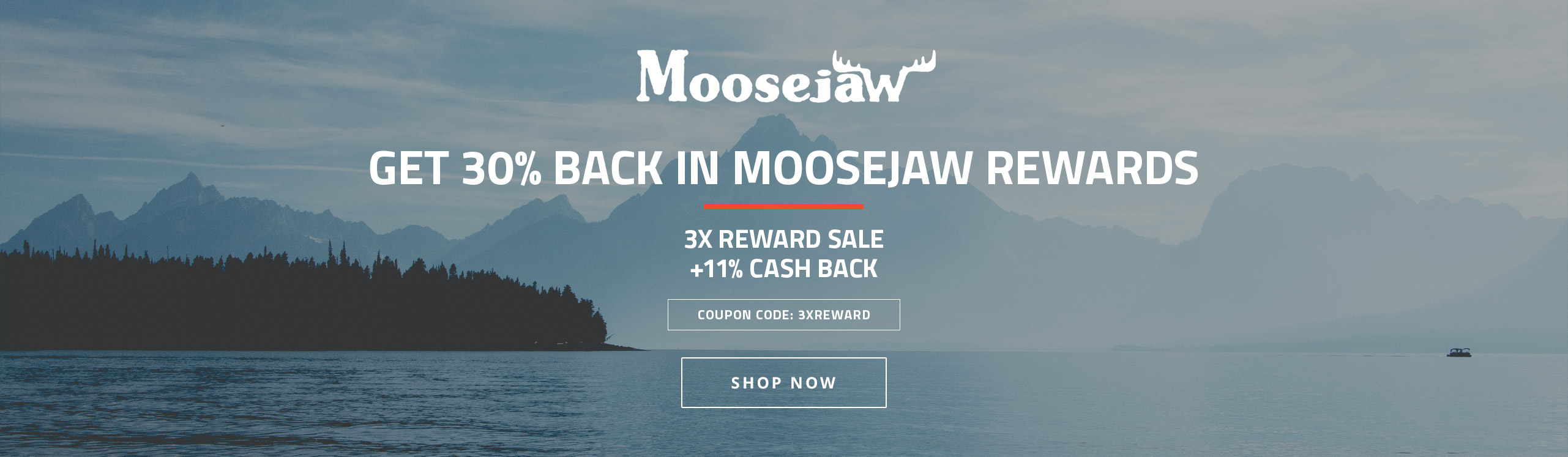 Moosejaw (11%) 3X Rewards Sale