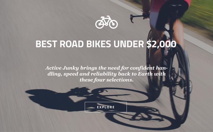 Best Road Bikes under $2,000