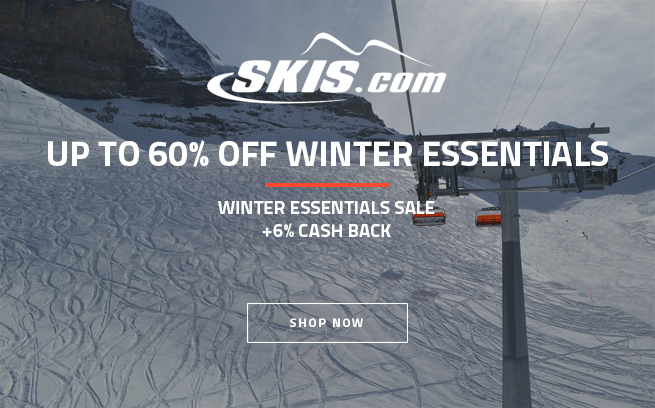 Skis.com Winter Essentials Sale