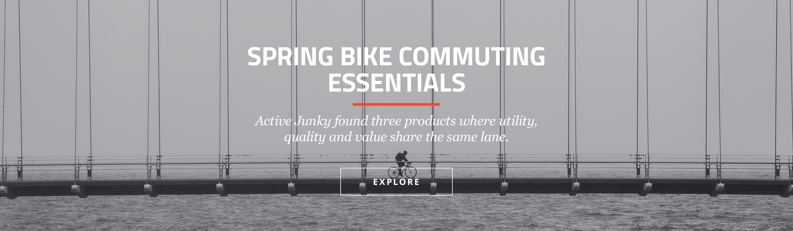 Spring Bike Commuting Essentials
