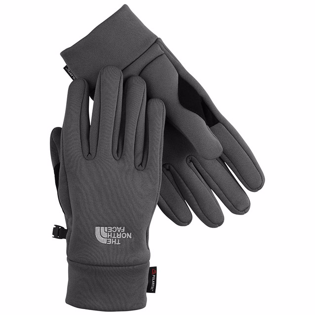 Tnf stretch run gloves