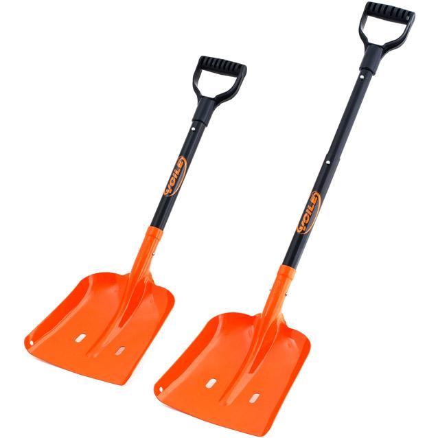 Voile shovel