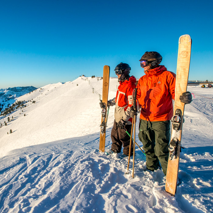 The Rise of Wood Skis and Snowboards