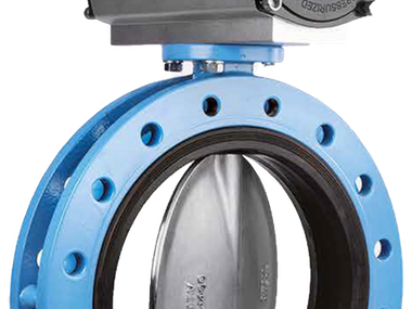 Flanged 6 Inch 150MM TTV Butterfly Valves.jpg