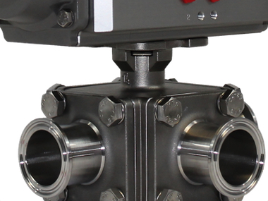 Hygienic Tri Clamp Actuated Stainless Steel Ball Valves.jpg