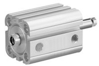 Aventics Pneumatics Compact Cylinder ISO 21287 Series CCI R422001627 Single Acting