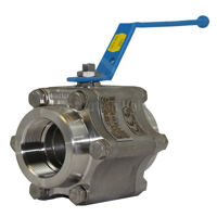 FB Super Star Starline Ball Valves F316 SS Body PTFE+20%C +5%GR Seat