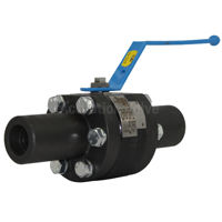 Full Bore Starline Ball Valves Mega Star LF2 Carbon Steel 2500 SW